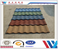 2015 New products Roofig Tile/Color Stone Coated Roofing Shingles/Aluminum Zinc Steel Roof Tile from Chinese exporter