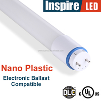 electronic ballast compatible T8 LED Tube 4ft wtih UL, DLC for North America
