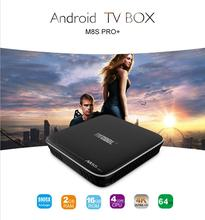 2017 Newest Android 7.1 S905X 2GB 16GB 4k ott tv box Mecool M8S PRO+ TV Box Android 7.1