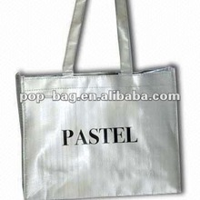 2012 Best Selling Woven Bag with PP Handles and Piping
