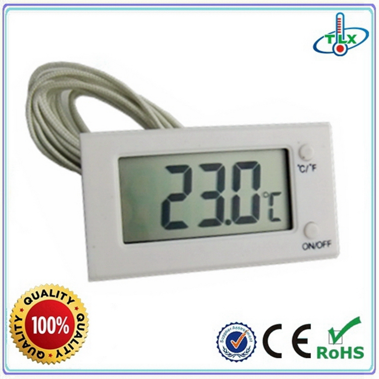 Factory hot sell hygrometer thermometer clock insert