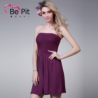 Women's Lady Chiffon Summer Casual Party Evening Cocktail Sexy Short Mini Dress Y165