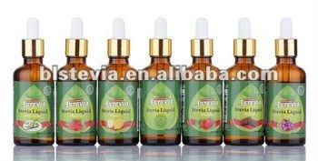 chocolate flavor stevia liquid