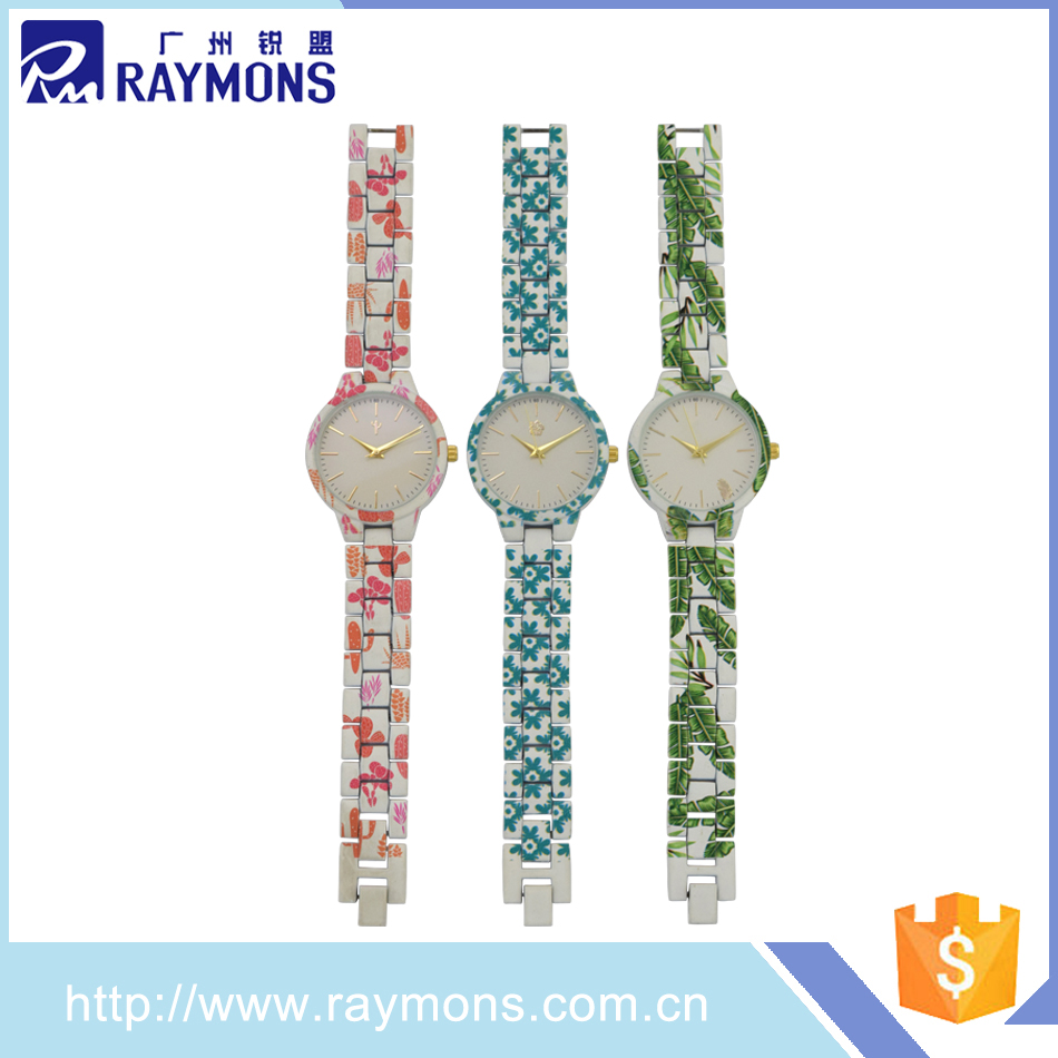 Promotional custom alloy lady cheap quartz ladies watches oem and odm