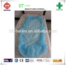 Medical products hospital daily use disposable bed sheet/bed cover CPE bed cover