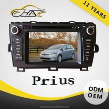 2009-2013 for toyota prius windows ce 6.0 car dvd gps system and camera cables