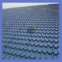 SGCH SGS sea blue/white/red color small wave corrugated steel sheet for roof and wall from china supplier