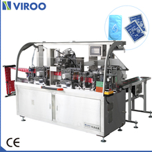 VPD250 wet wipe pack machine can filling liquid and make out bag packing machine