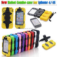 Colorful Popular Case For iPhone 5 4 4S Samsung S4/S3 iPad,Rain/Vibration/Shock Proof