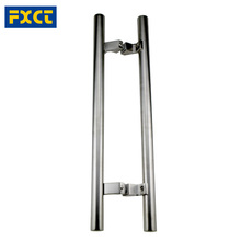 China Suppiler High Quality Glass Door Pull Handle H shape Handle Series stainless steel glass door handle