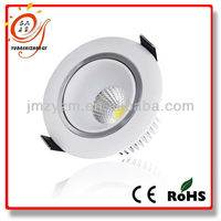 HOT! 2013 new design high luminance 15 watt downlight led
