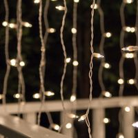Modern hotsell Christmas battery icicle lights