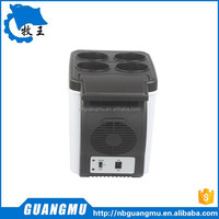 6 L Plastic car mini refrigerator ,warmer DC only