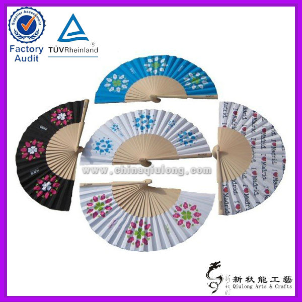 Wholesale Art Minds Crafts Spanish Products Folding Fans