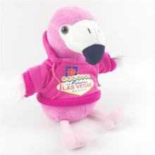 Adorable Custom Plush Toy Stuffed Pink Plush Flamingo Toy