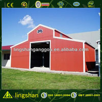 Llight Steel Structure Cattle Shed Building with ISO9001:2008