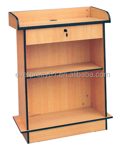 School Furniture Platform Desk for Speaker Podium Teacher Dais