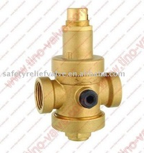 WARS approved brass water pressure reducing valve 25bar
