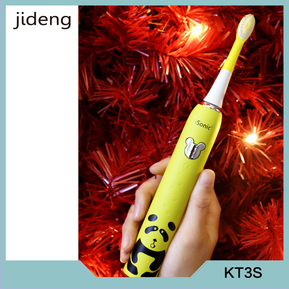 IPX 7 Waterproof smart sonic Kids music electric toothbrush KT3S