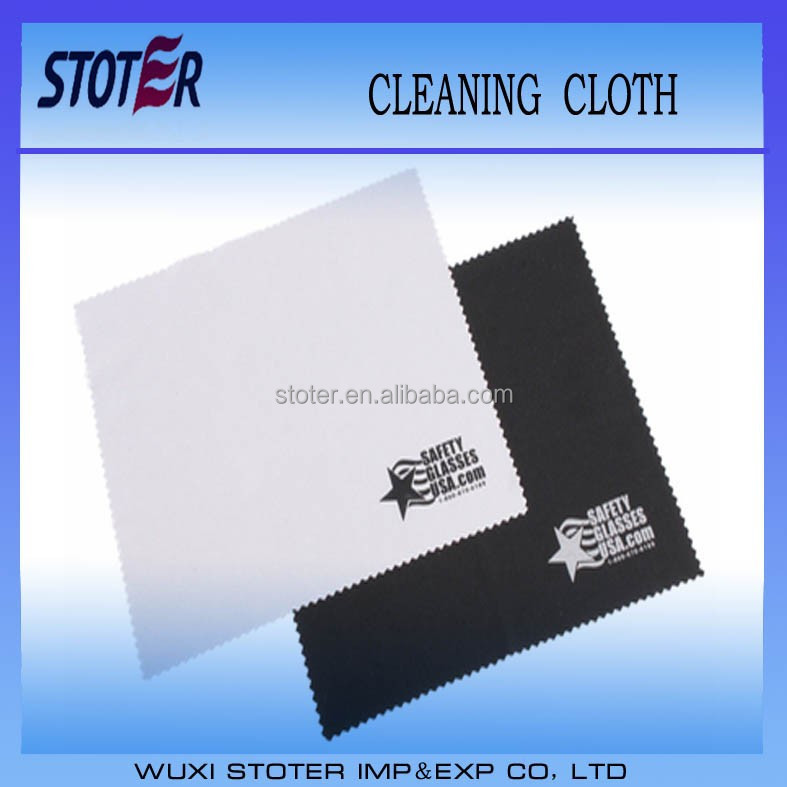 clean microfiber cloth , glasses cloths with pouch