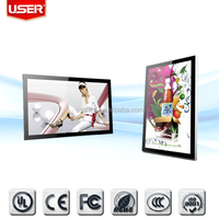 Indoor shopping mall stand alone advertising display tft-led rohs
