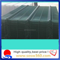 Wholesale pvc coated 3d/2d curved wire mesh fence