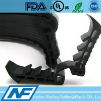 2015 RoHS rubber u channel seal strip