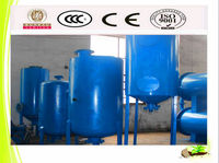 12tpd Polution-Free Rubber Pyrolysis Plant Recycle Used Rubber To Oil
