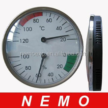 Good Quality Dial sauna thermometer hygrometer