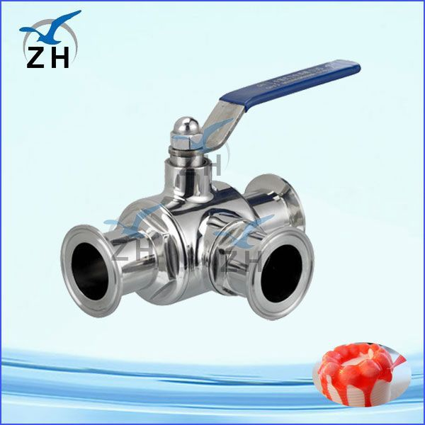 sanitary 1.5 inch stainless steel ball valve