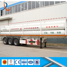 Brand new reliable and safety CNG semi trailer / CNG long tube skid container trailer / CNG 8 bundle tube skid container