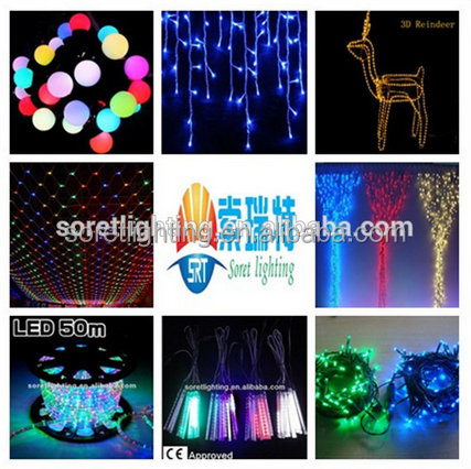 Indoor & Outdoor christmas Decoration Lights Holiday Time LED Lights