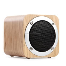 High quality super bass music NFC wooden Retro bluetooth 4.0 speaker with TF card