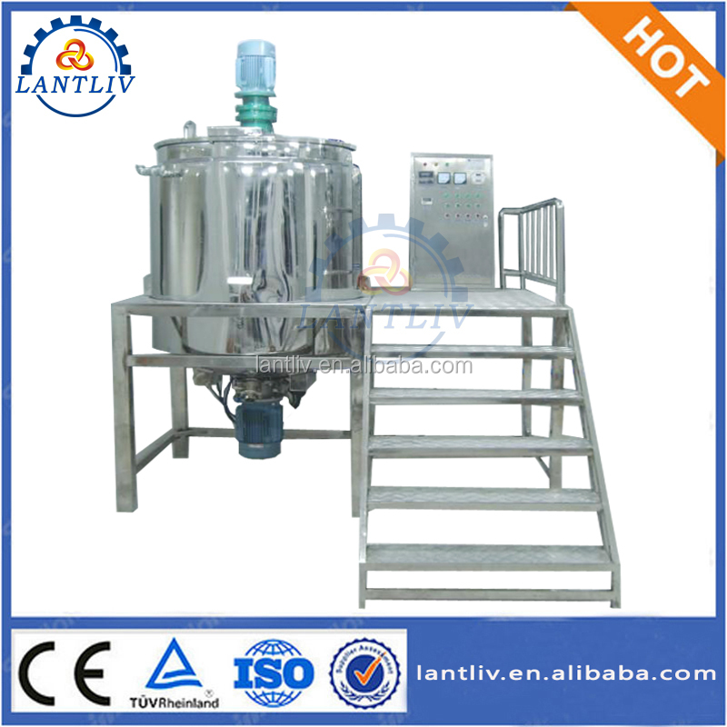 SUS316 Electric Heating 2000L Shampoo Mixer Blender