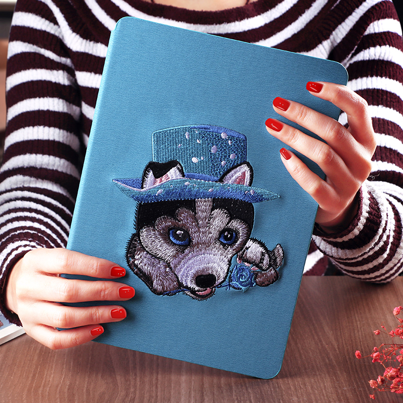 2018 high quality hot selling factory price smart tablet cover colorful drawing case for new ipad 2 3 4
