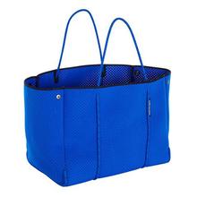 3.5mm blue perforated neoprene beach bag perforated bag