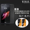 2016 NEW!!Brand Vmax Ultra clear 0.33mm 2.5D 9H Anti-shock Mobile Phone Tempered Glass Screen Protector for LG X screen
