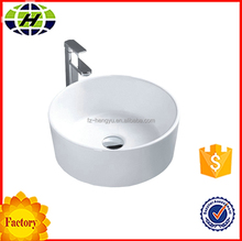 bathroom best quality ceramic fancy wash sink