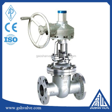 Rising Stem Stainless Steel Flange Type Wedge Gate Valve Gear Operated