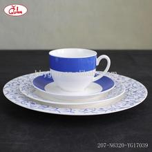 Wholesale good china dinnerware with beautiful arc decor YGG17201