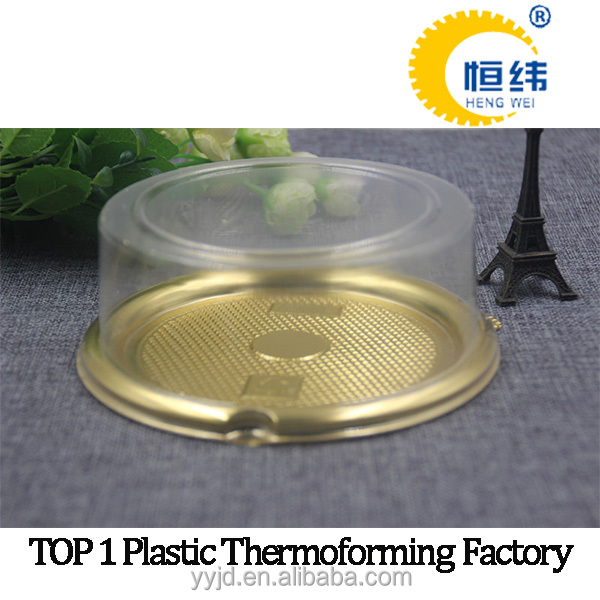 transparent PET vacuum formed plastic tray for food/fruit/vegetable
