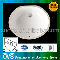 Sanitary wash basin cupc sink