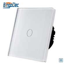 UK glass panel led touch dimmer switch