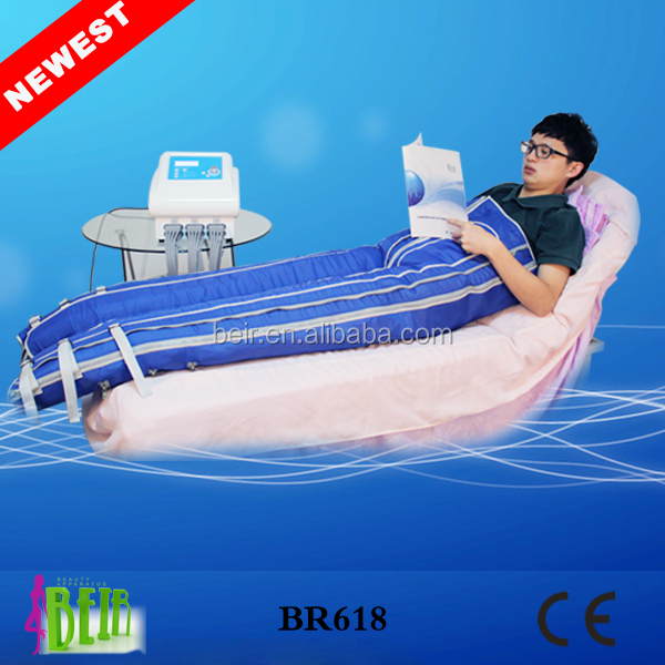 Hot in Germany!!!Pressotherapy Slimming lymphatic drainage body shaping suit /infrared Air wave pressotherapy massage therapy