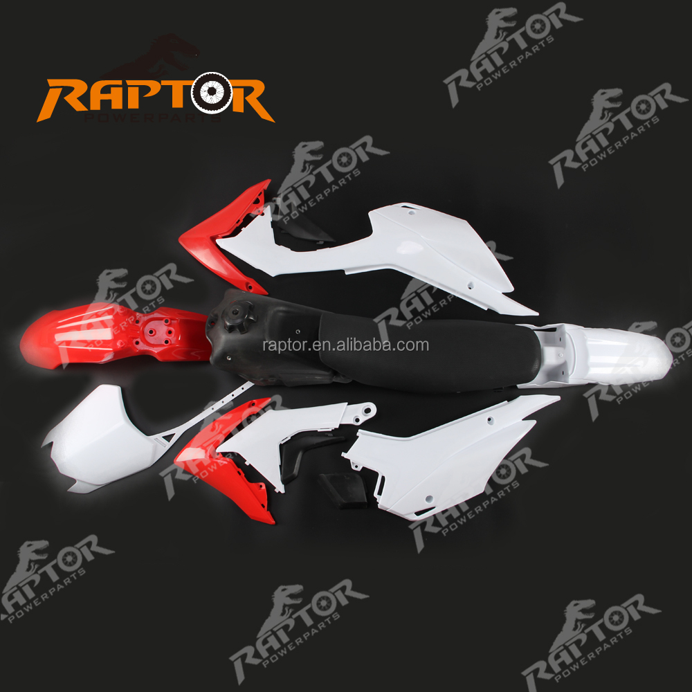 CRF110 2014 Pit Bike Fairing Plastic Kits Covers With Seat Fuel Tank
