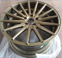 VIA JWL bronze racing aluminum wheel rim/ car alloy wheel 18""