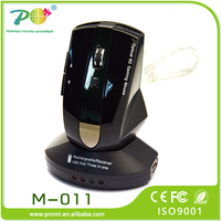 High-tech 2.4G Rechargeable Wireless ergonomic optical Mouse Computer Mouse with docking station M-011