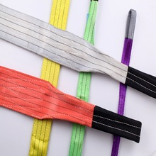 CE certificate available webbing sling