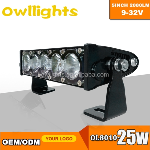 distributors wanted car parts 6 inch 25 Watt LED Light Bar Spot Amber and White light 6 Inch LED Light Bar