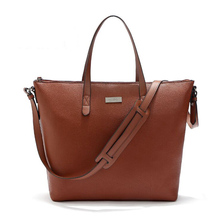 Luxury custom logo women pu leather lady handbag nice quality